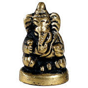 mini estatua de Ganesh sentado